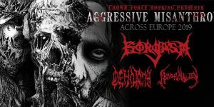 Agressive Misanthropy Europe Tour 2019