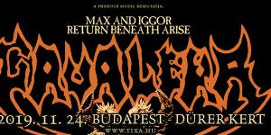Max and Iggor Cavalera return to Beneath and Arise (US)