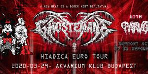 Sold out! - Ghostemane with Parv0 - Akvárium Klub