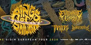 Rings of Saturn - The Gidim European Tour 2020