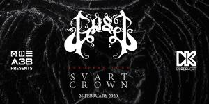 A38 Ship presents: GosT, Svart Crown