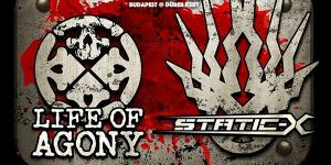 Life Of Agony (US), Static-X (US)