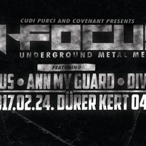 In FOCUS underground metal meeting