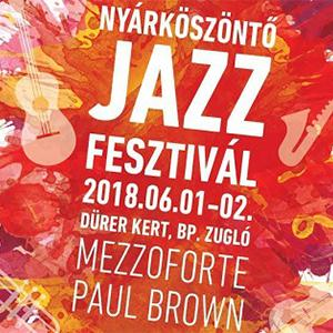 Welcome Summer Jazz Festival - first day