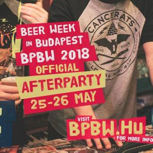Afterparty / BPBW 2018 / Beer Week in Budapest