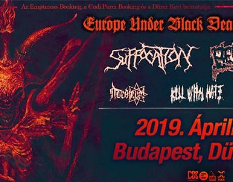Suffocation (US), Belphegor (AT)