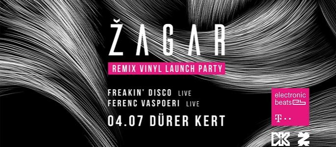Žagar Remix Vinyl Launch Party, Freakin'Disco, Ferenc Vaspoeri