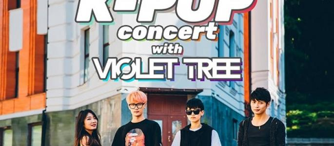K-POP concert with Violet Tree (KR