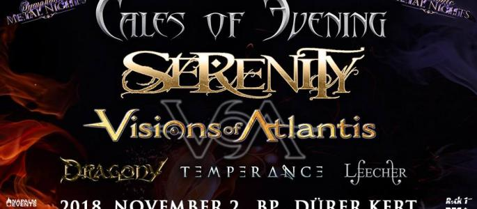 Tales Of Evening, Serenity, Visions Of Atlantis + support