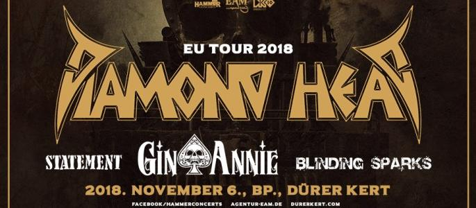 Diamond Head, Gin Annie, Statement, Blindig Sparks