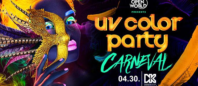 Sold out - UV Color Party - Carneval
