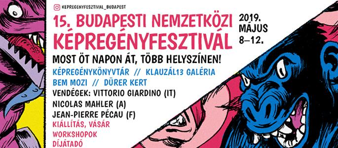 15th International Comics Festival in Budapest