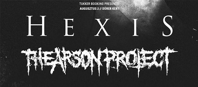 Hexis (DK), The Arson Project (SE), Crippled Fox, On Graves