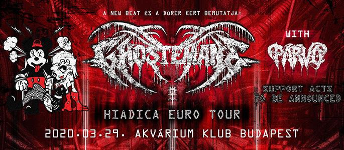 Cancelled! - Sold out! - Ghostemane with Parv0 - Akvárium Klub