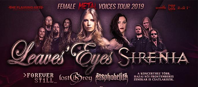 Female Metal Voices Tour 2019