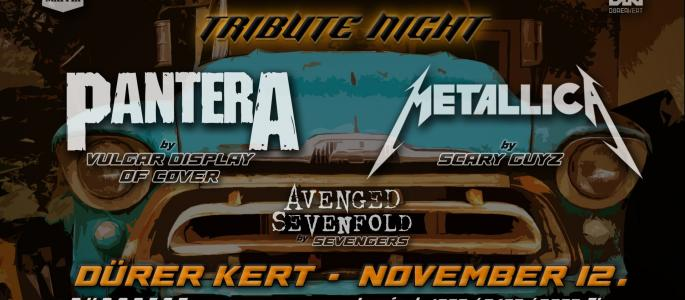 Pantera by Vulgar Display of Cover Metallica by Scary Guyz Avenged Sevenfold by Sevengers