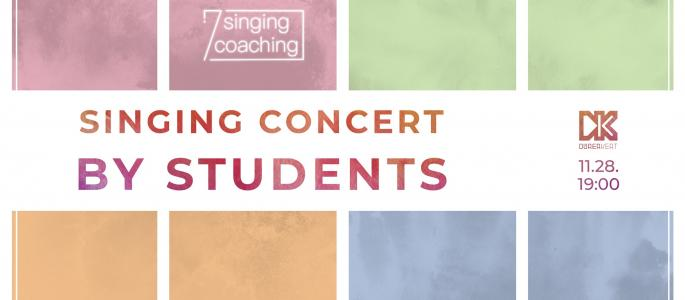 Singing concert by Students - 7 singing coaching