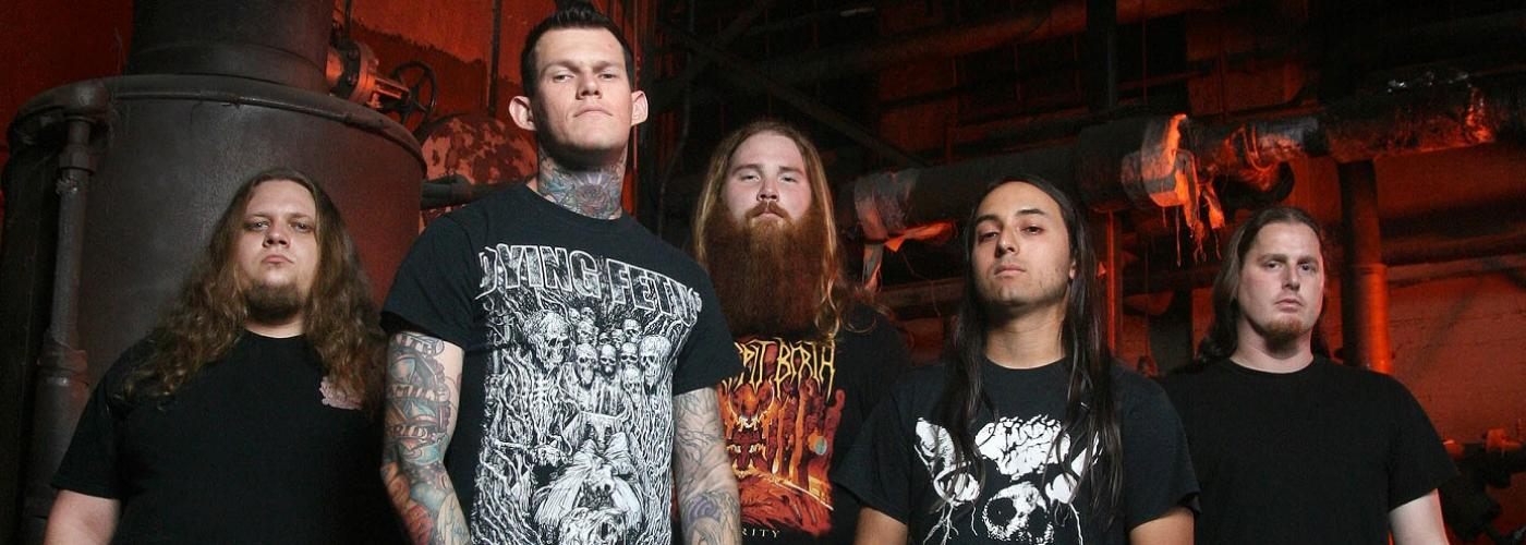Carnifex (USA), Oceano (USA), Aversions Crown (AUS), Disentomb (AUS)