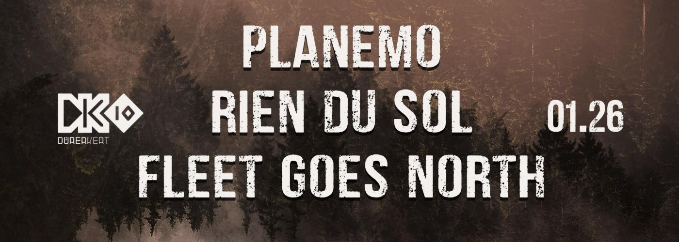 Planemo // Rien du Sol // Fleet goes North