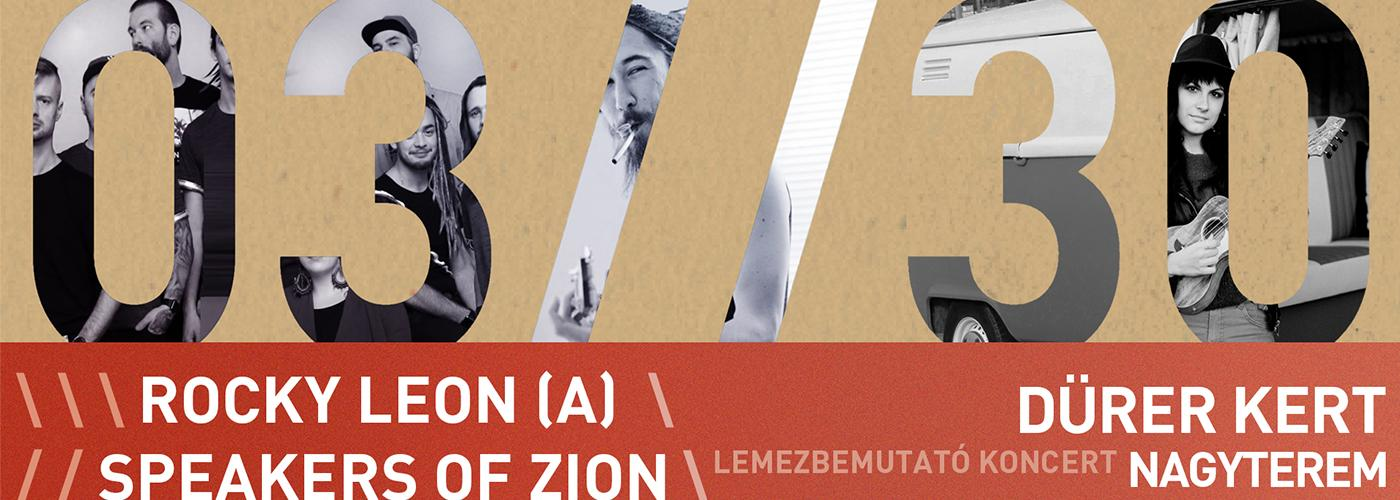 Speakers of Zion album release, Rocky Leon, CéAnne & the Jiggaz
