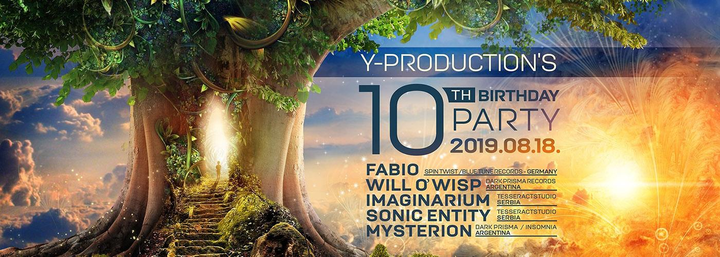 Y-Production's 10th birthday party