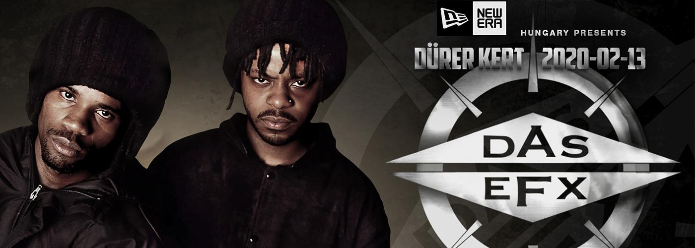 Sold out! New Era Hungary presents: DAS EFX (US)