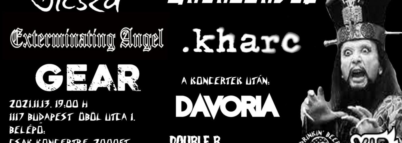 Double B Monsters Vol. 1. - Social Free Face, Unenslaved, Extrerminating Angels, .kharc