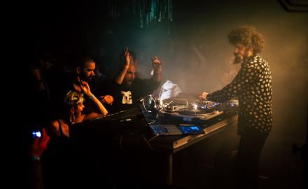 Totem Tribe: The Gaslamp Killer (US) - Photos: Ingrid Andrási