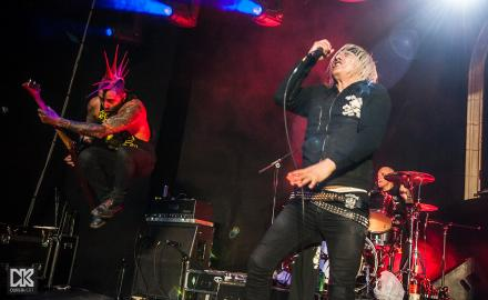 The Exploited & The Casualties - fotó: Pozsonyi Roland