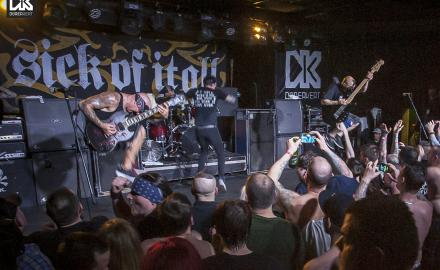 Crowned Kings (AUS), Broken Teeth (UK), Sick Of It All (USA) - fotó: Pozsonyi Roland