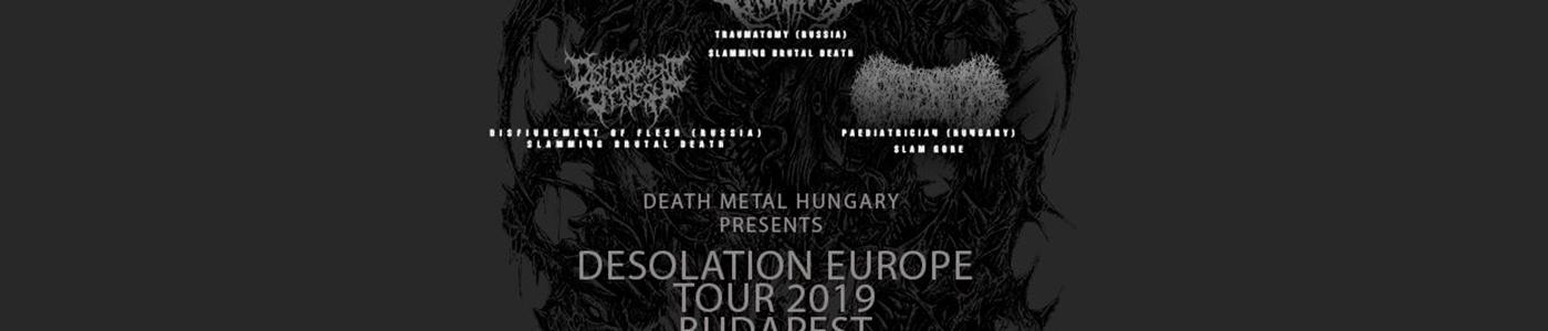 Desolation Europe Tour 2019