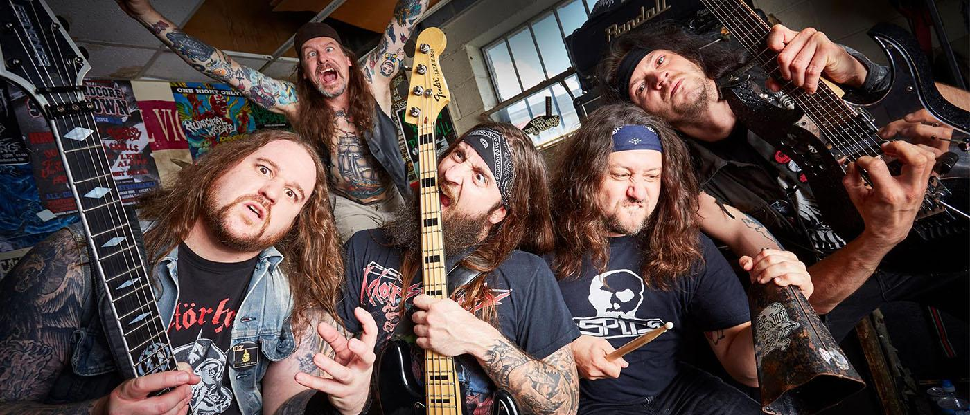 Municipal Waste (US), Crippled Fox, Blackmail